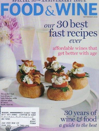 Food & Wine September 2008 by Food & Wine