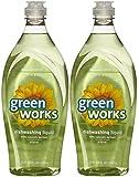 Greenworks Natural Dishwashing Liquid Original Scent Value Pack, 22-fluid Ounce Bottles, 2 Pack