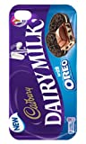 Iphone 4/4s white Cadbury Dairy Milk Oreo iphone case Free Next Day Delivery