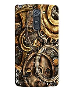 Omnam Parts Of Time Machine Printed Designer Back Cover Case For LG G3 Stylus
