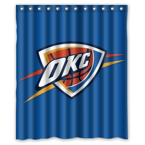 Oklahoma City Thunder Shower Curtains Price Compare