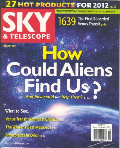 Sky & Telescope Magazine January 2012