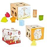 Janod きりんのソフィー 型はめ 知育玩具