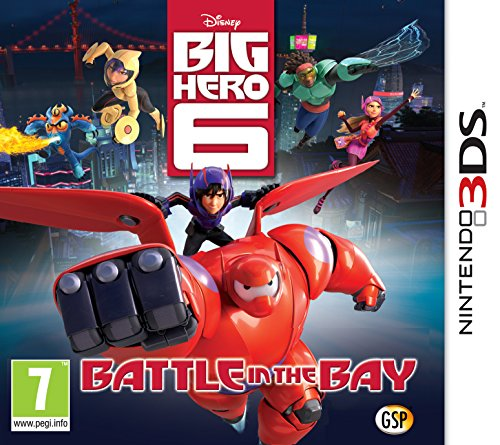 Disney Big Hero 6: Battle in the Bay  (Nintendo 3DS)