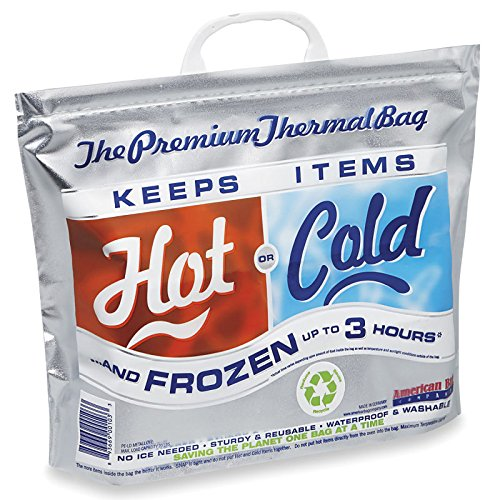 "Thermal Bags - 15 x 12 x 6""- ULINE - 25/case - 1"