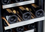 whynter bwr 33sd 33 bottle built in wine refrigerator