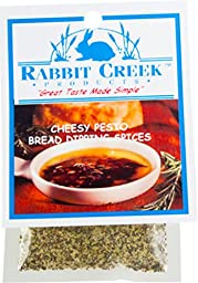 Rabbit Creek Products Cheesy Pesto Bread Dipping Spice Mix, 0.6 Ounce (Pack of 12)