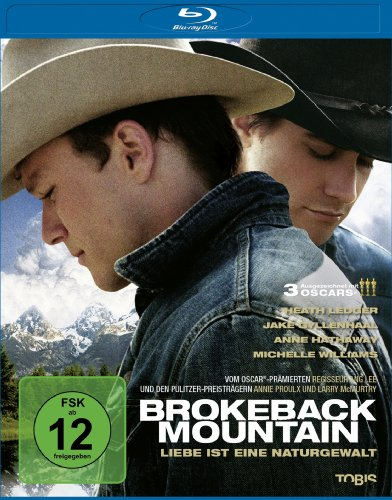 Brokeback Mountain (inkl. Wendecover) [Blu-ray] [Import allemand]