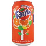 Fanta Orange 12 OZ (355ml) - 6 Cans
