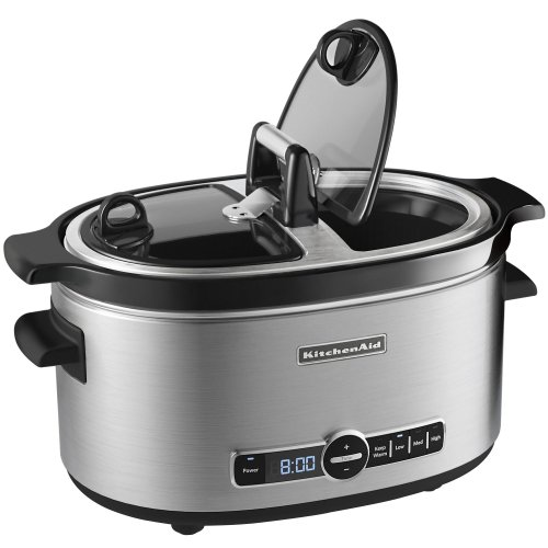 KitchenAid KSC6222SS 6 Quart Slow Cooker With