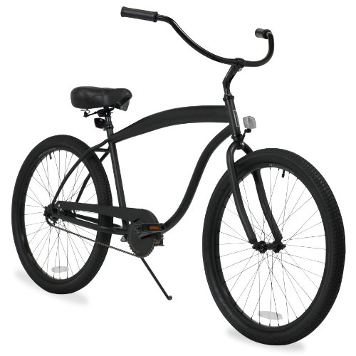 Best Price! sixthreezero Men's In The Barrel Beach Cruiser Bicycle, 26-Inch