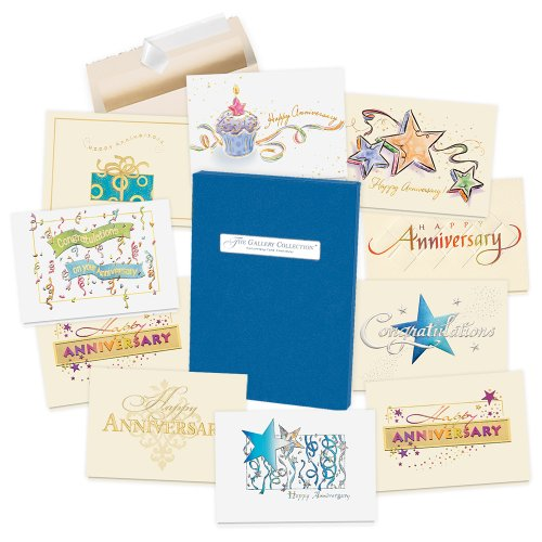 Anniversary Cards Assortment Box - 35 High Quality