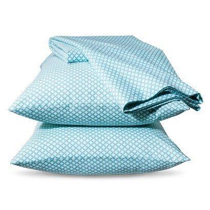 xhilaration-mini-ethnic-sheet-set-turquoise-twin