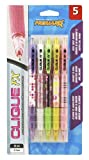 Kittrich Promarx Clique FX grip assorted designs  Mechanical Pencils, 0.7mm, 5 Count (MQ02-DF7PO5-48)