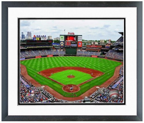 "Atlanta Braves Turner Field MLB Stadium Photo 12.5"" x 15.5"" Framed at Amazon.com"
