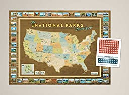 National Parks Travel Quest Poster