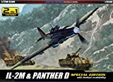 1/72 IL-2M & PANTHER D SPECIAL EDITION #12538 ACADEMY MODEL KITS