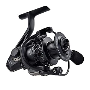 KastKing® Mela Spinning Reel - Light, Smooth, 10 + 1 BB, Powerful Carbon Fiber Drag System, FREE Spare Graphite Spool