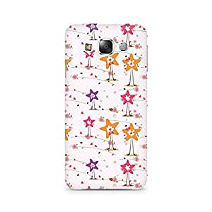TAZindia Printed Hard Back Case Cover For Samsung Galaxy E5