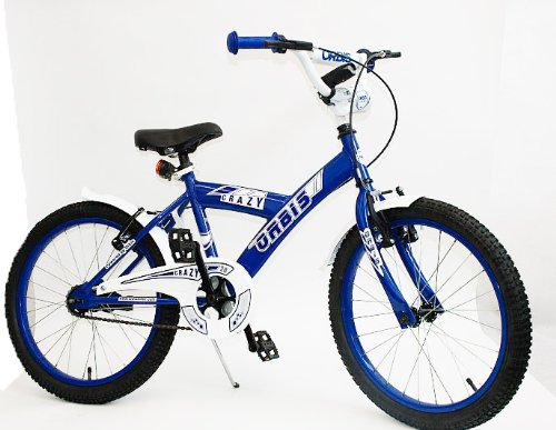 20-ZOLL-BMX-KINDER-FAHRRAD-RAD-KINDERFAHRRAD-JUGENDFAHRRAD-Kinderrad-Blau-CRAZY