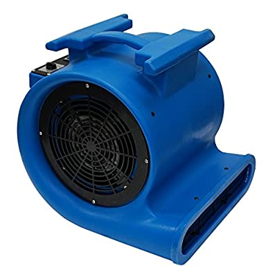 Mounto 3-Speed Air Mover Blower 1HP 4000+ CFM Monster Floor Carpet Dryers