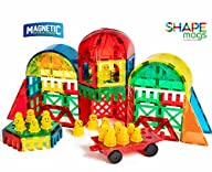Award Winning Shape Mags 100 piece DELUXE shape set Including 17 different shapes