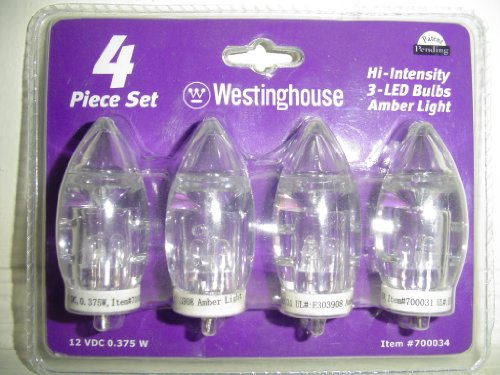 Replacement Bulbs 4 Westinghouse Hi Intensity 3 Led