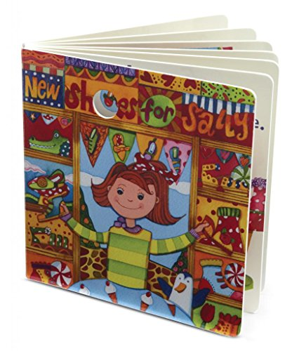 """Jellycat® Board Books, New Shoes For Sally Book - 6"""" front-994999"""