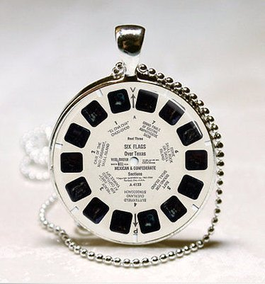 Vintage Viewmaster Reel Retro Necklace