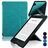 Kindle Voyage [Origami] Case - ACdream Kindle Voyage Protective Case - Ultra Slim Premium PU Leather Cover Case for Kindle Voyage 2014 Version with Auto Wake Sleep Feature - Sky Blue