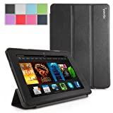 Poetic Slimline Case for New Kindle Fire HDX 7 (2013) 7inch Tablet Black (3 Year Manufacturer Warranty From Poetic)