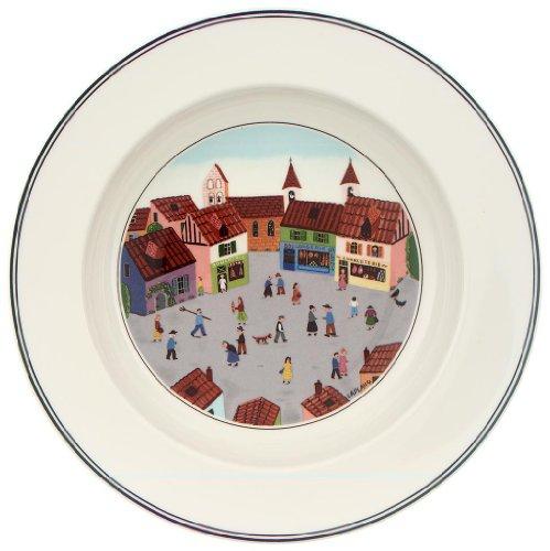 Villeroy & Boch Design Naif 21 cm Deep Plate, Village