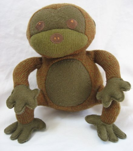 "2009 Starbucks Plush 9"" Summer Monkey - 1"