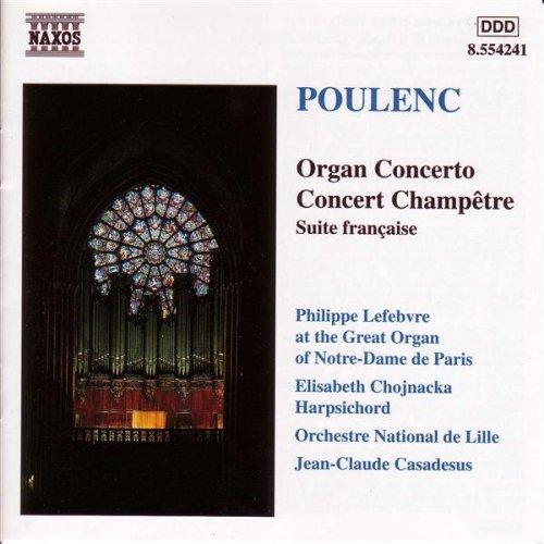 Organ Concerto in G minor: I. Andante (Poulenc Organ Concerto compare prices)