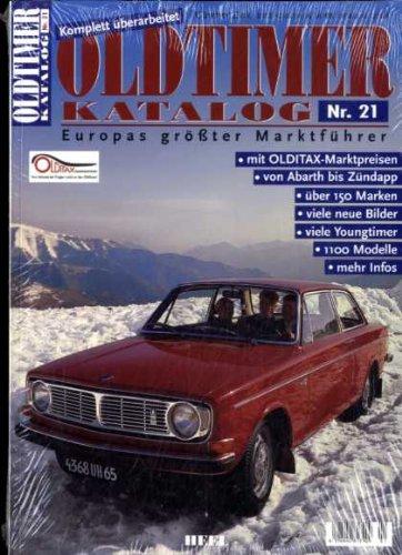 Oldtimer Katalog Nr. 21 - Europas größter Marktführer