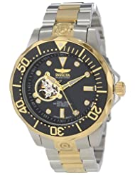 Invicta Men's 13705 Pro Diver Automatic Black Textured Dial Two Tone Stainless Steel Watch coupon codes 2015
