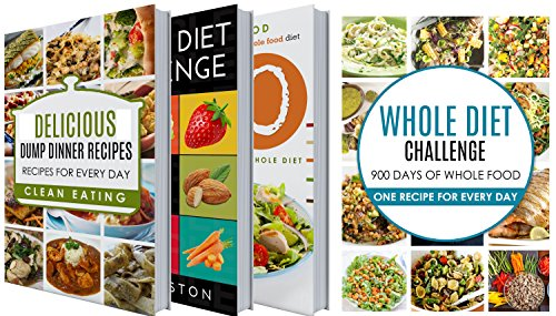 30 Day Whole Food Challenge: 30 Days of Whole Food Cookbook BOX SET: Whole food diet Cookbook in 30 Days: Whole Diet Plan Designed for 30 days: 30 Hot ... whole foods, whole diet in 30 Days) by Mister Eating