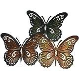 Papillons décoratifs en métal