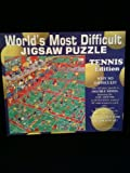 World's Most Difficult Jigsaw Puzzle- Tennis Edition (529 Pieces) by Buffalo Games, Inc.