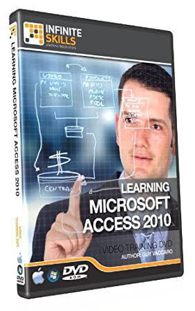 Learning Microsoft Access 2010 Tutorial DVD - Training Video