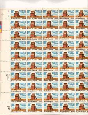 North Dakota Sheet of 50 x 25 Cent US Postage Stamps NEW Scot 2403