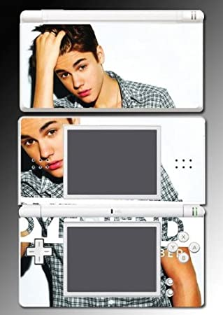Justin Bieber Boyfriend Selena Game Vinyl Decal Cover Skin Protector #30 for Nintendo DS Lite
