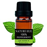 Nature-Hue-Peppermint-Essential-Oil-10-ml-100-Pure-Therapeutic-Grade-Undiluted