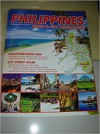 Philippines Road & City Hand Book / Philippine Road Map - City Street Atlas