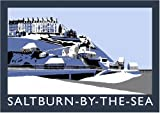 Saltburn-by-the-Sea in Snow Art Print (A3)