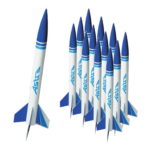 Quest Aerospace Astra 1 Model Rocket Value Pack (12)