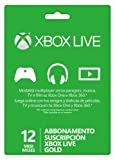 Xbox Live - Gold Card 12 Mesi