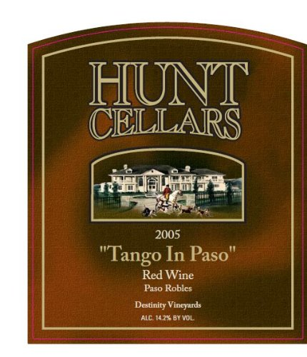 2005 Hunt Cellars 'Tango In Paso' Red Blend, Paso Robles 750 Ml