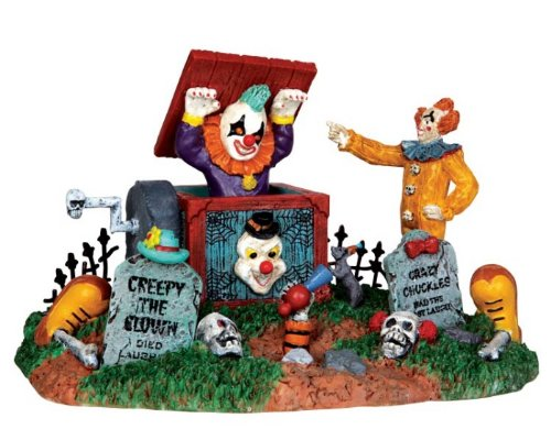 Lemax Spooky Town Jack in the Box #33021 (Scary Clown Jack In The Box compare prices)