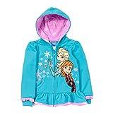 Disney Little Girls Frozen Zip Front Jacket
